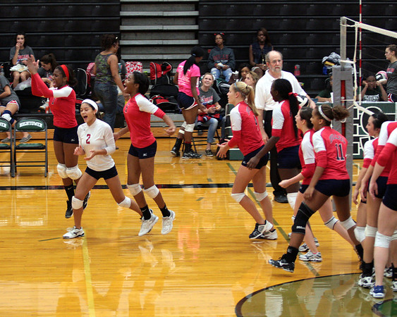 Dulles JV Volleyball 2011